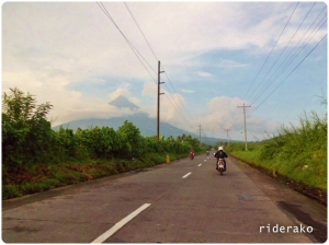 We took a baranggay road then exited just off Camalig proper.